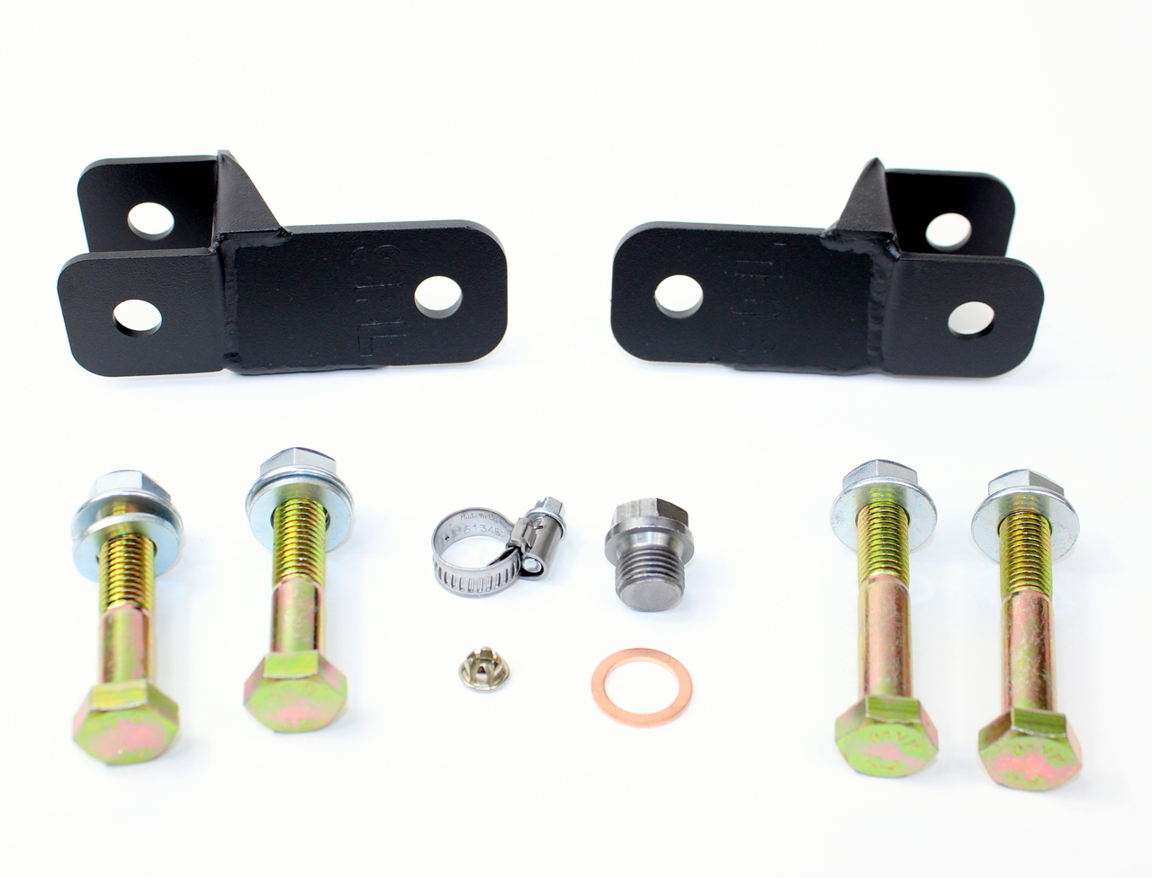 SPL HICAS ELIMINATOR BRACKETS ONLY (W/ BOLTS): S13/Z32 (HICAS MODEL)