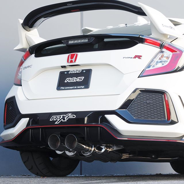 MXP COMP RS EXHAUST: CIVIC TYPE R FK8
