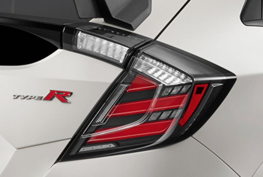 MUGEN TAILLIGHT: CIVIC TYPE R FK8 18-20, CIVIC HATCH 16-20 FK7